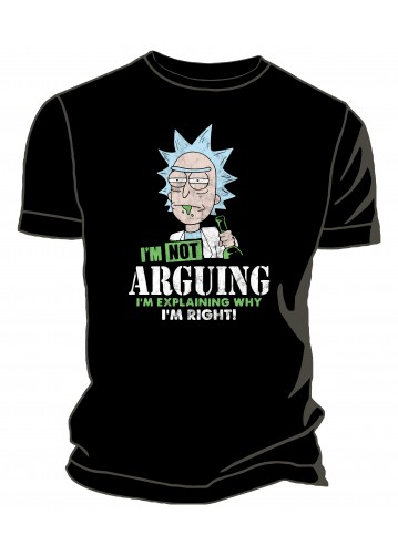 Rick & Morty - Not Arguing